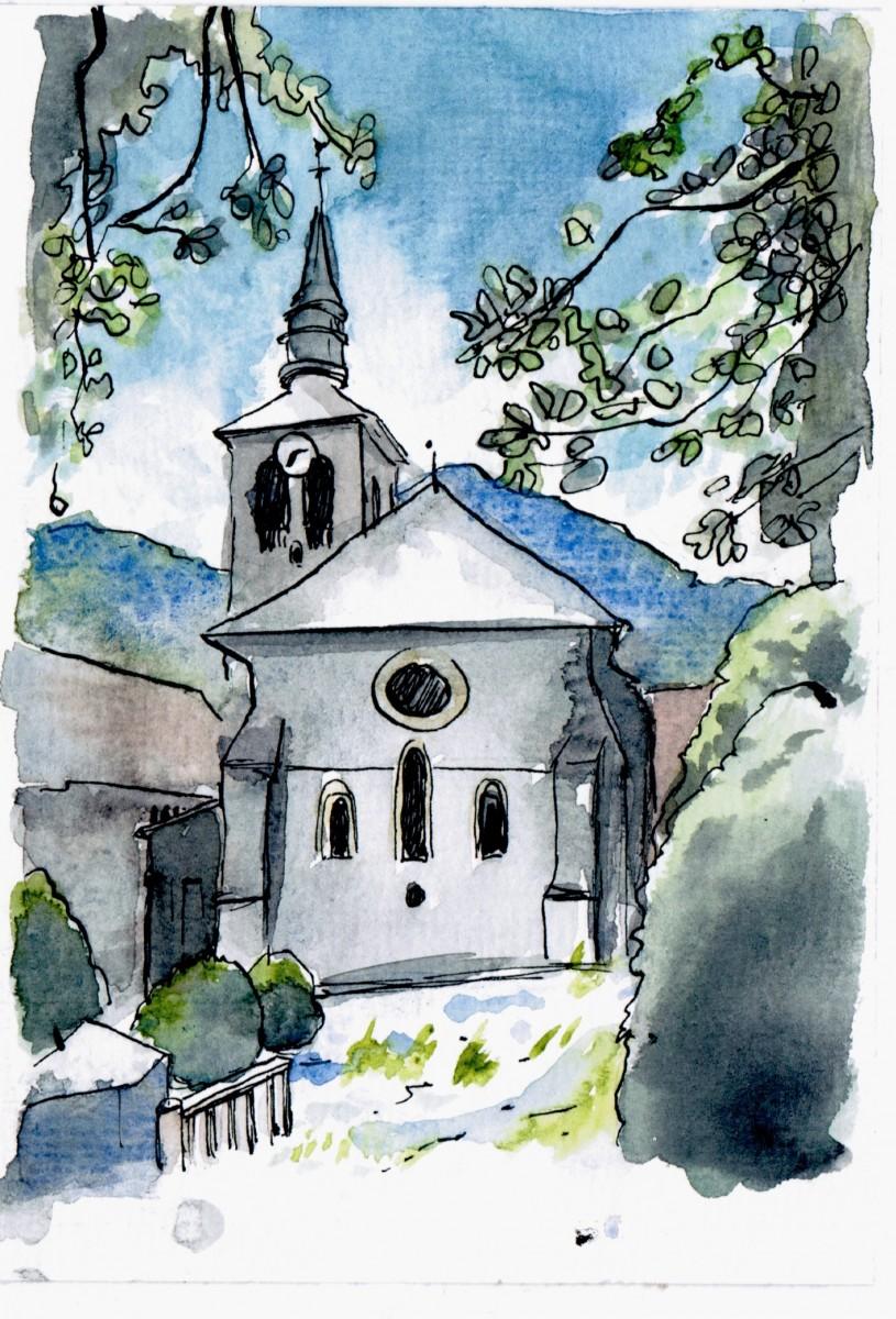 Abbey in Sixt